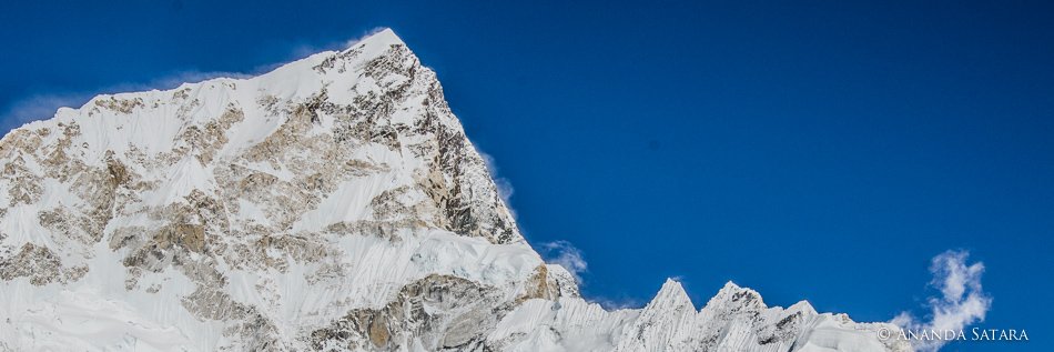 Lhotse from Everest Base Camp