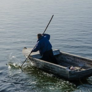 Lake Titicaca: awakening Light beneath the waters
