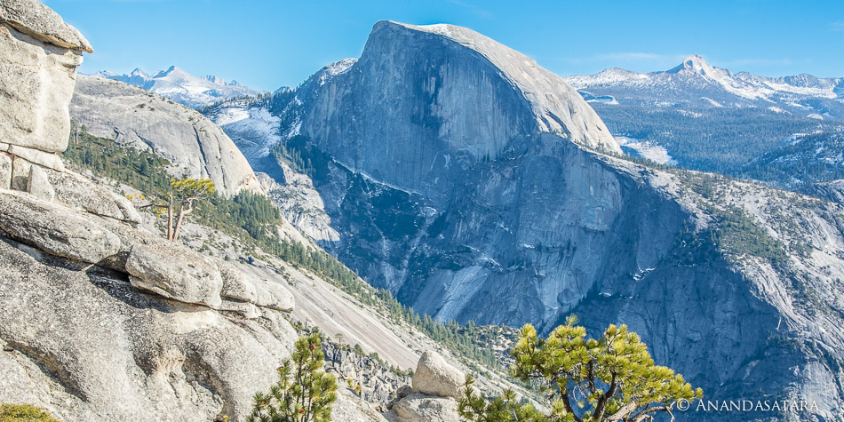 """Beyond the Visible"" Half Dome, Yosemite National Park, January 2015"