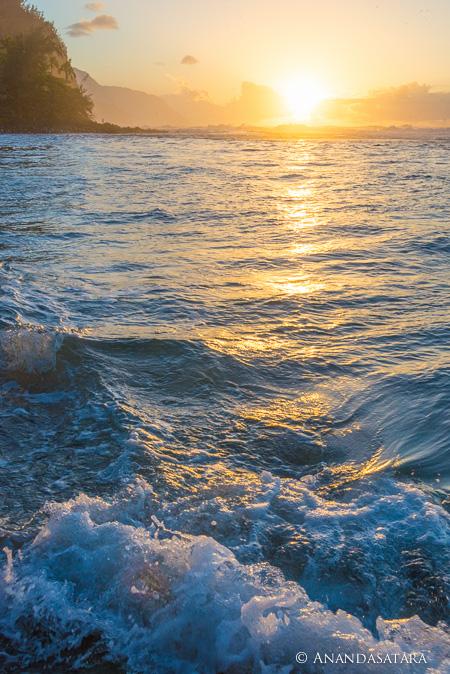 Na Pali sunset soul ascension enlightenment