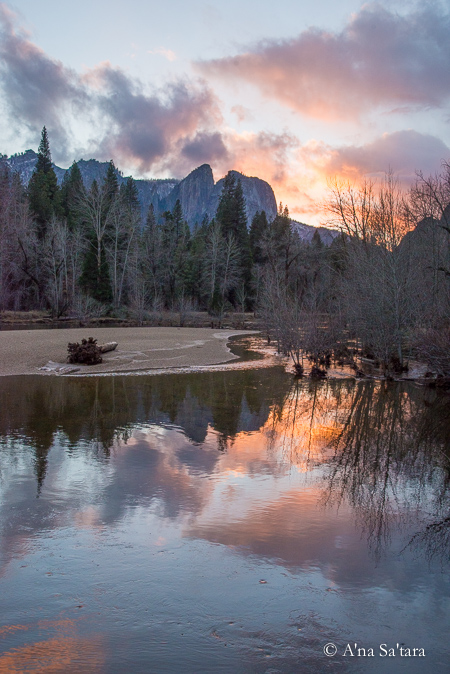 Yosemite Valley earth changes