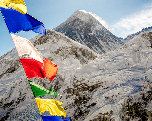 Earth Service Mount Everest