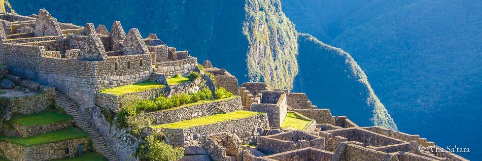 Macchu Picchu sacred geometry Huanya Picchu