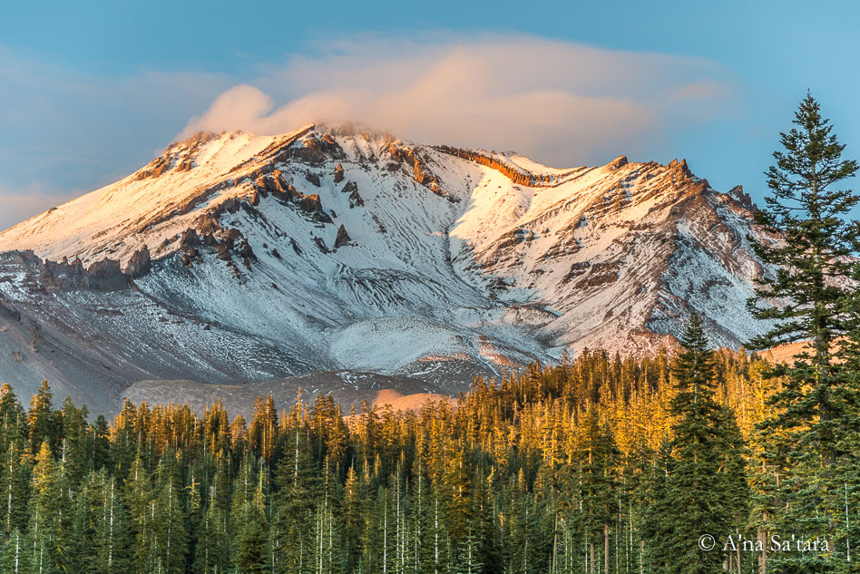 On a powerful ley line, Mount Shasta is a complicated and ... California Ley Lines on