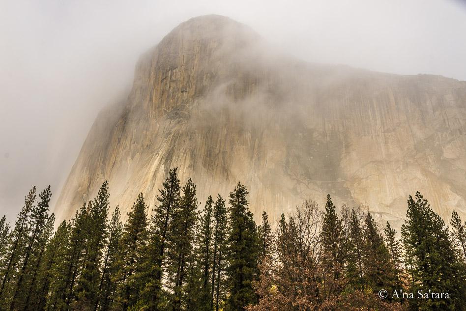 Yosemite valley ley line