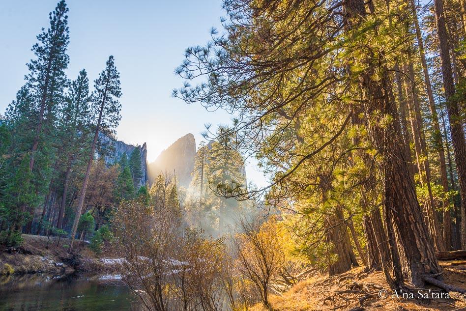 Yosemite Valley ley line energy node
